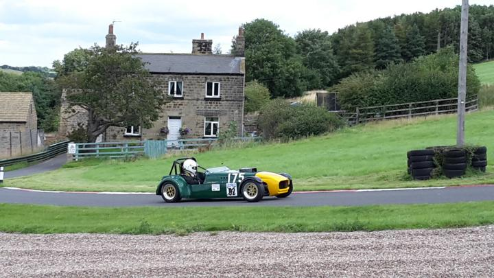 Spectate at the Practice Day (Clubman) Speed Hillclimbs at Harewood